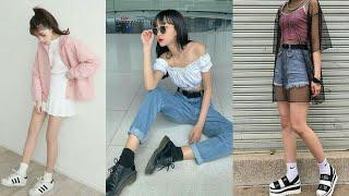Moda Coreana 😍 KOREAN FASHION STREET / Outfits De MODA | Min Yami