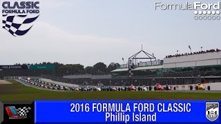 FormulaFord - PhillipIsland2016 Full Highlights