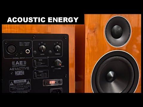 Acoustic Energy AE 100 Loudspeakers Acoustic Energy AE1 Active Speakers Top Small HiFi