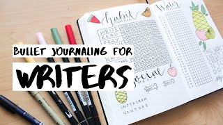 Bullet Journaling Spreads for Writers // May 2019 Bullet Journal Setup