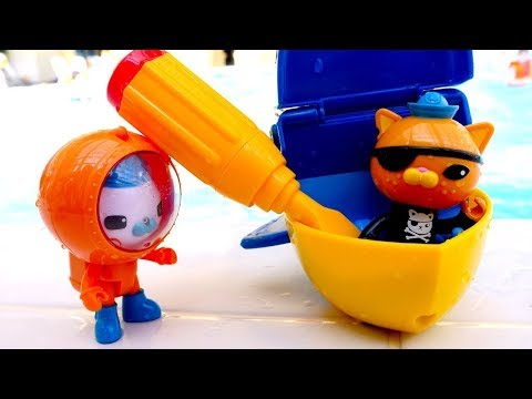 Die Oktonauten Spielzeugvideo für Kinder - Captain Barnacles rettet Kwasi