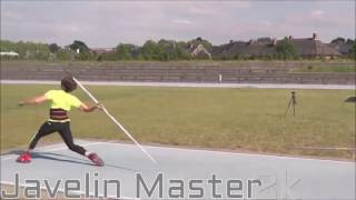 Javelin Technique & Throwing training By Timothy Herman