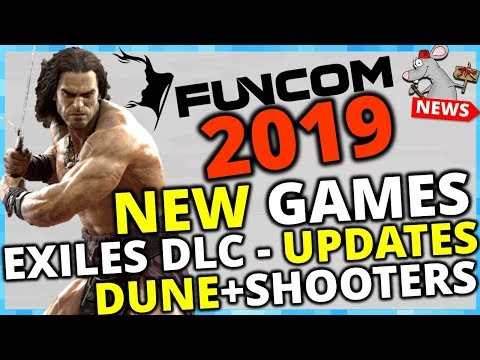 NO MORE XP CHEESE CONAN EXILES! DLC! NEW GAMES! THE FUTURE OF FUNCOM!