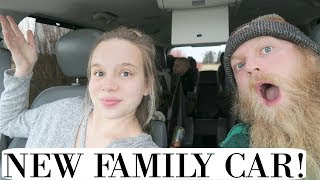 WE GOT A NEW CAR! ~Family of 6~