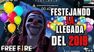 FESTEJANDO LA PRÓXIMA LLEGADA DEL 2019 (FIESTAS NOCTURNAS)  •FREE FIRE•