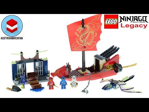 Vidéo LEGO Ninjago 71749 : L'ultime QG des ninjas