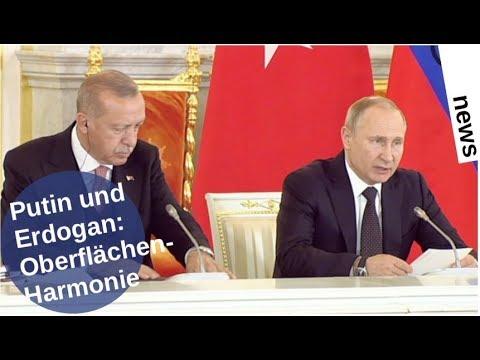 Putin und Erdogan: Oberflächen-Harmonie [Video]