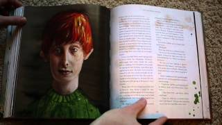 Flipping Through The Harry Potter Illustrated Edition