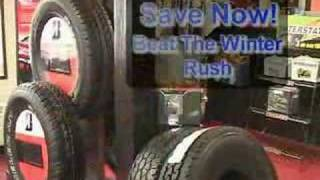 preview picture of video 'Lenny's Tire , Middleburgh NY - Snow Sale 2007'