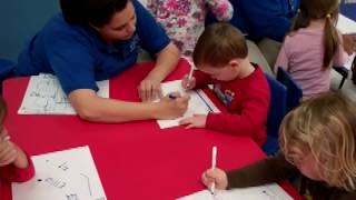 Learning To Write Their Name