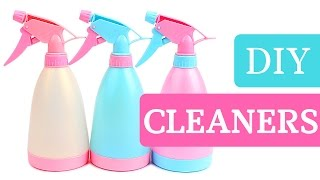 HOMEMADE CLEANING PRODUCTS!  5 EASY DIY CLEANERS!