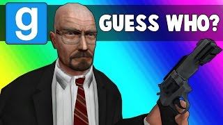 Gmod Guess Who Funny Moments - Walter White Edition (Garry's Mod)