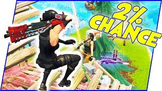 Booty PUCKERED! They Gave Me A 2% Chance Of Winning! - Fortnite Gameplay
