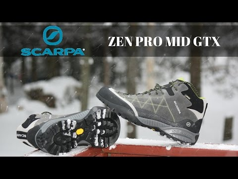 Scarpa Zen Pro Mid GTX - Tested & Reviewed