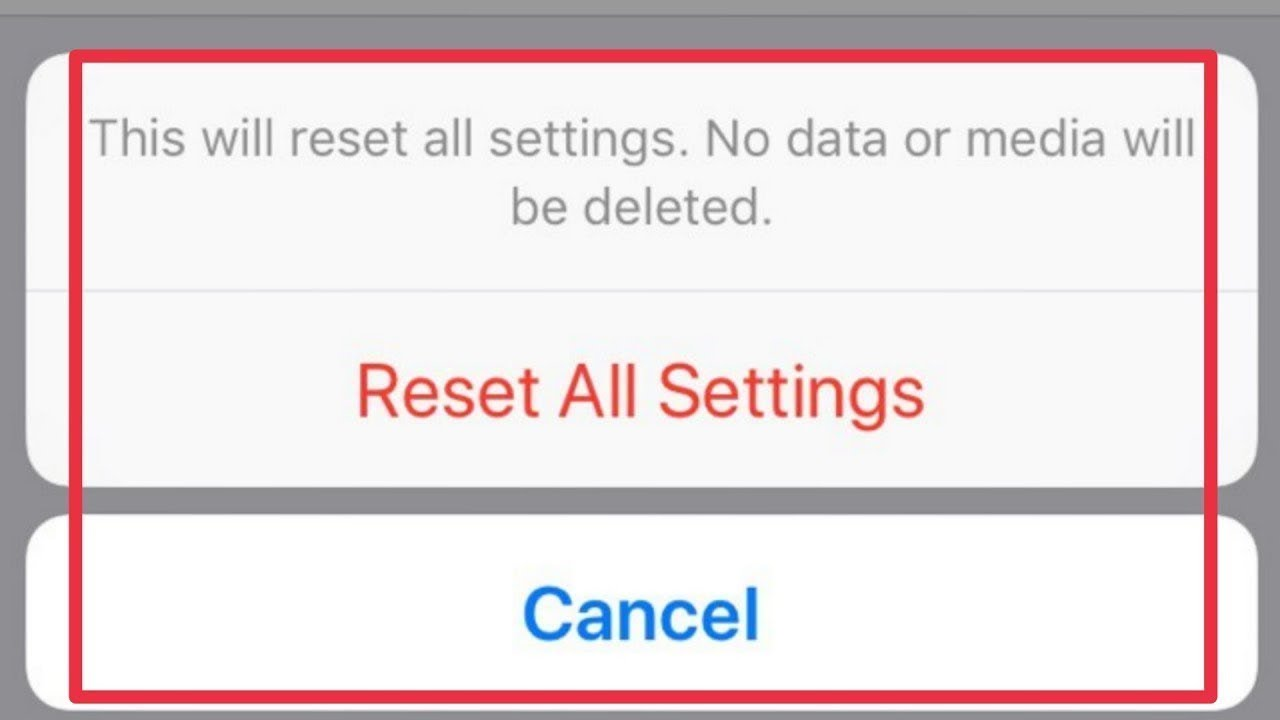 iOS: how to reset all app permissions