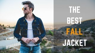 How To Style A Denim Jacket | 3 Ways | Mens Outfit Ideas