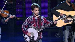 9-Year-Old Plays Banjo on David Letterman Show