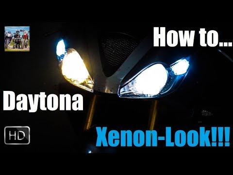 Wie Geil!!! 😍   Xenon-Optik   Daytona 675