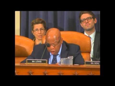 Congressman Lewis Speaks on Human Rights Amendment to TPA