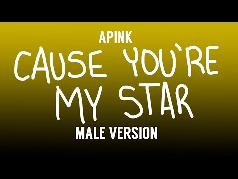 [MALE VERSION] Apink - Cause You're My Star