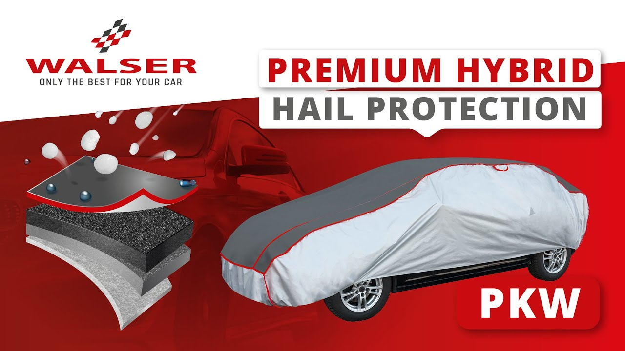 Preview: Car hail protection tarpaulin Premium Hybrid size M
