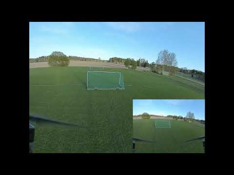 Maiden with the DJI digital FPV system on Holybro Kopis2 HDV 4S #2 (2020 #61)