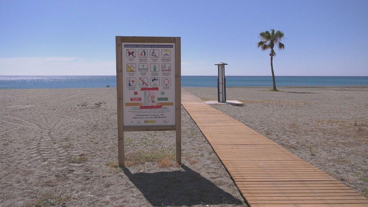 Actuaciones en las playas del litoral manilveño