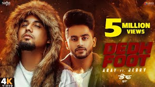 Dedh Futte Sand (Full Video) - Akay Ft. Jerry | Western Penduz | New Punjabi Song 2020 | Saga Music