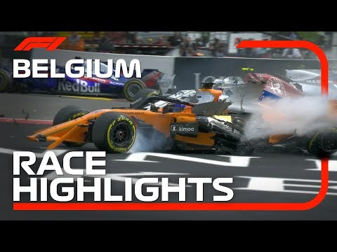 2018 Belgian Grand Prix: Race Highlights