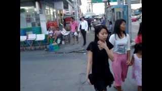Streetlife In Lat Krabang, Thailand