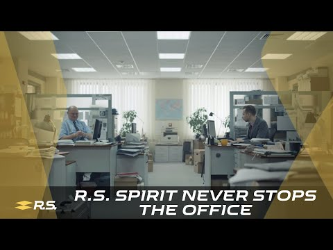 The R.S. spirit never stops - The office