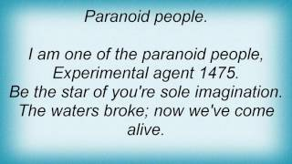 3 Colours Red - Paranoid People Lyrics