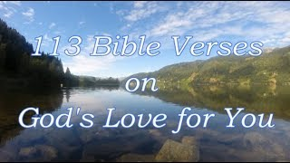 113 Bible Verses On Gods Love For You [Audio Bible Scriptures]