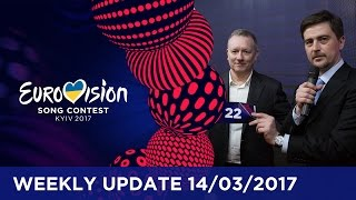 Eurovision Song Contest Weekly Update 14/03/2017