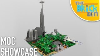 LEGO Star Wars Scarif Jungle MOC- MOC SHOWCASE