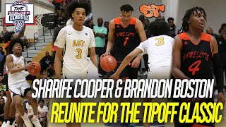SHARIFE COOPER & BRANDON BOSTON reunite at The Tip Off Classic | A.O.T vs Game Elite FL