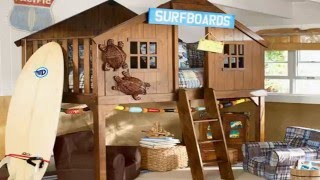 Kid's Bedroom Furniture Exciting Loft Bed Designs
