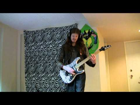 Van Halen - Panama guitar cover Performed by Cam Moen