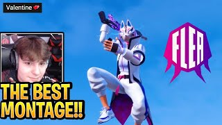 Clix Reacts To FLEA Montage Valentine💕 In Fortnite (Best Montage Highlights)