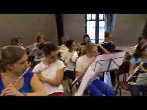 Meander Play Inn groepsrepetitie fluit en hobo