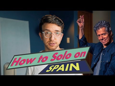 """How to Solo on """"Spain"""" by Chick Corea"""