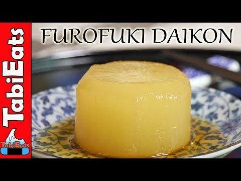 Simmered Japanese Daikon Radish (RECIPE)