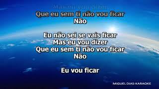 Sara Carreira   Vou Ficar (Karaoke) Versão