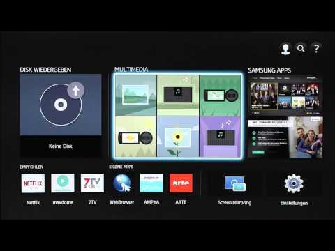 Samsung Blu-ray Player: Wiedergabe von USB-Inhalten