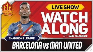 Barcelona Vs Manchester United LIVE Match Chat | Champions League