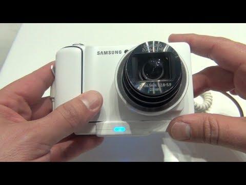 Samsung Galaxy Camera Primeras impresiones CES 2013