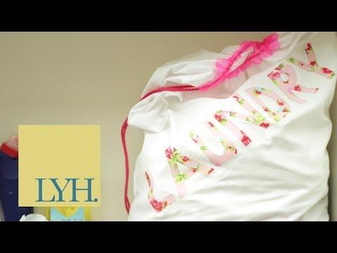 Μετάτρεψε την μαξιλαροθήκη σου σε καλάθι για τα άπλυτα!! thumbnail