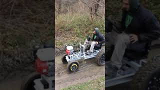Home-made Tractoras 7cp Test 2