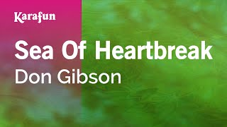 Karaoke Sea Of Heartbreak - Don Gibson *