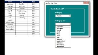 Fully Dynamic List in Combobox of VBA